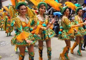 Morenada, danse folklorique altiplanique