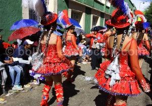 Danse La Morenada au carnaval à Oruro