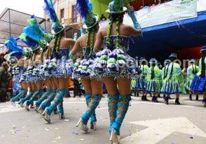 La Morenada l'une des principales danses du folklore bolivien