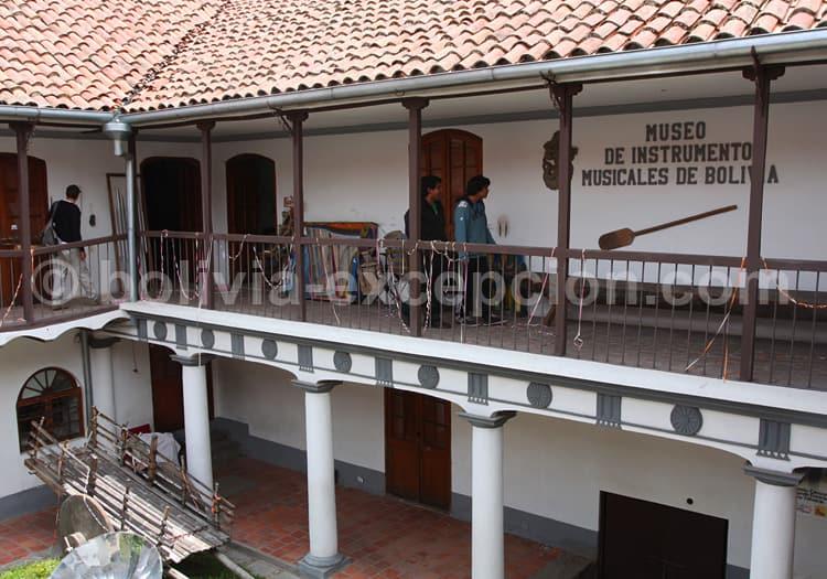 Musée des instruments de musique Ernesto Cavour, La Paz
