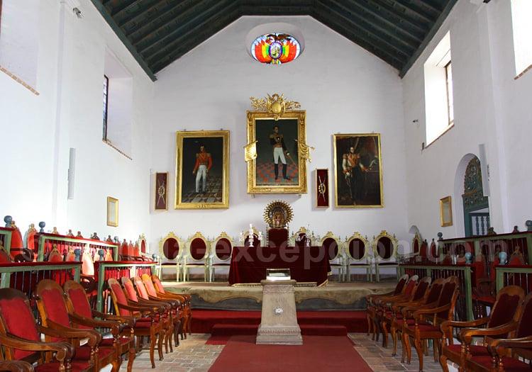 Casa de La Libertad, Salón de la Independencia, Sucre