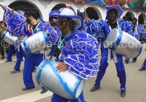 Images du carnaval à Oruro