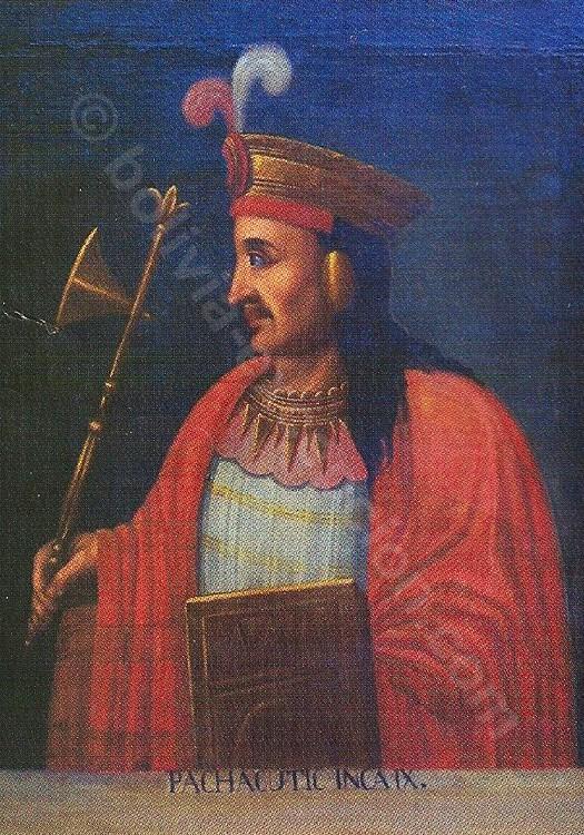Empereur Inca Pachacútec