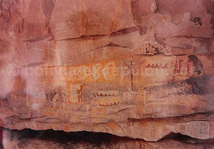 Peintures rupestres de Higuerayoc