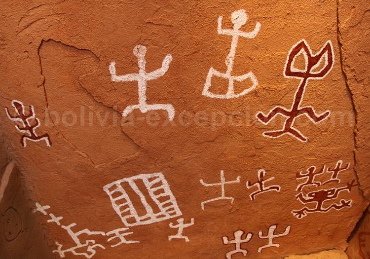 Peintures rupestres Incamachay, Chaunaca
