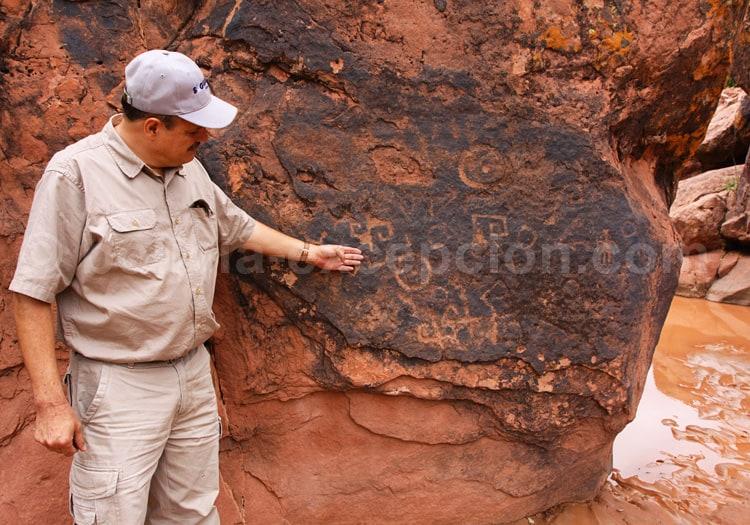 Pétroglyphes de Villa Abecia