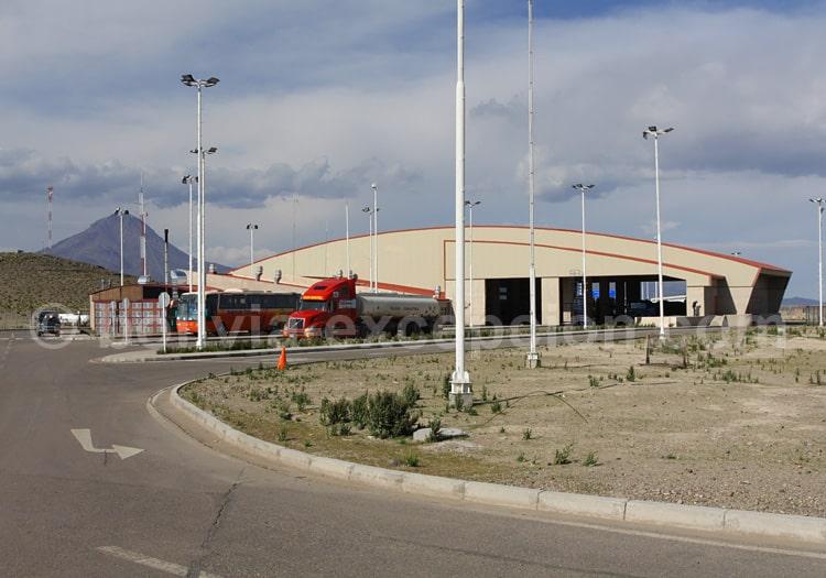 Frontière Colchane Pisiga Bolivar, Bolivie Chili