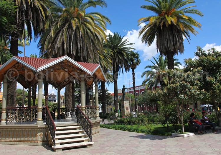 Plaza de Armas Luís de Fuentes y Vargas, Tarija