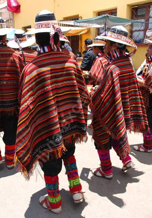 Les ponchos de Bolivie