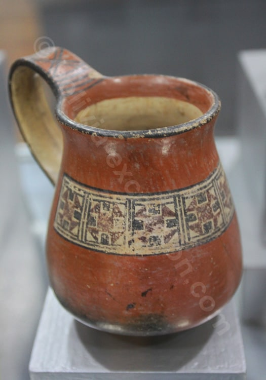 Vase de la culture inca, Bolivie