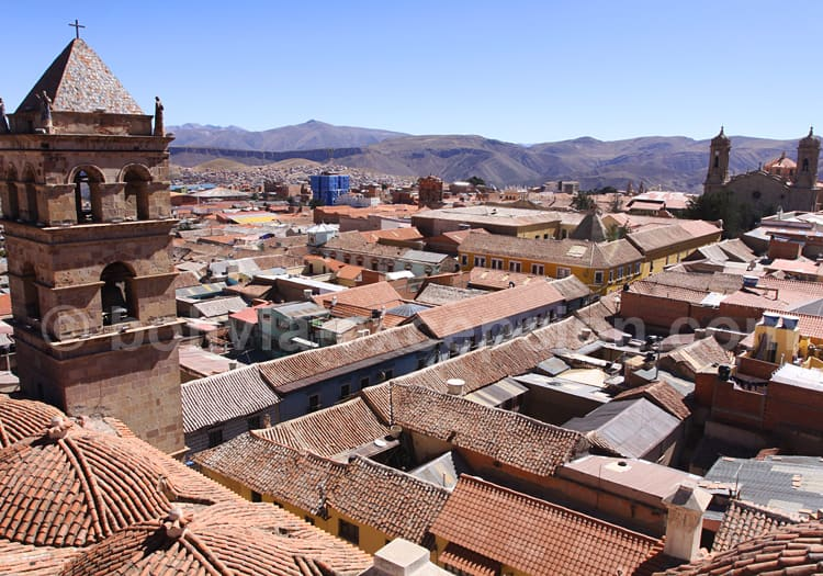 La ville de Potosi, Patrimoine mondial