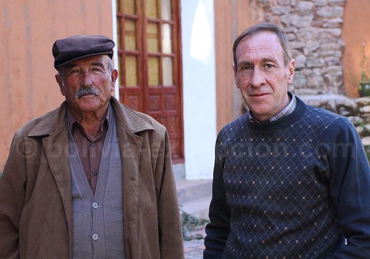 Les propriétaires de l'hôtel Caraya à Potosí de descendance française