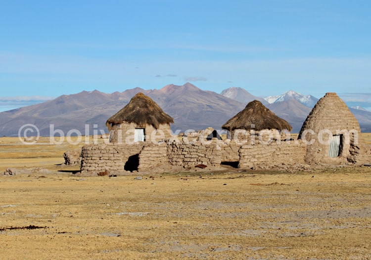 Village de Chipaya, case putucu