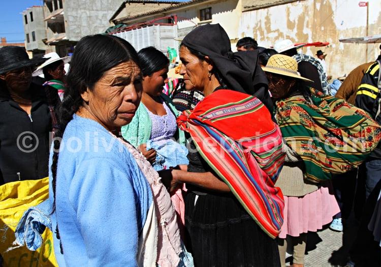 Communauté quechua de Bolivie