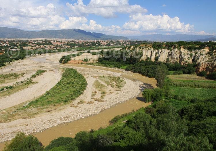 Rio Guadalquivir, Tarija, Bolivia
