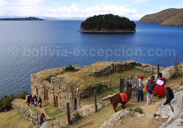 Ruines incas de Pilkokaina, Titicaca