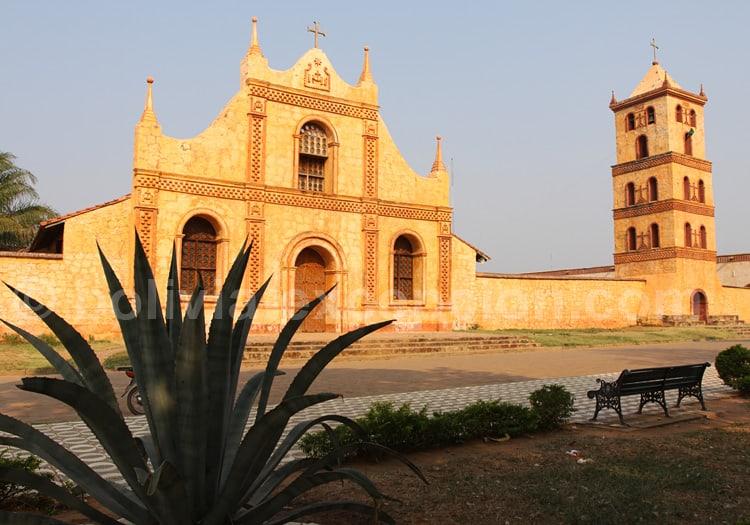 Eglise de San José de Chiquitos