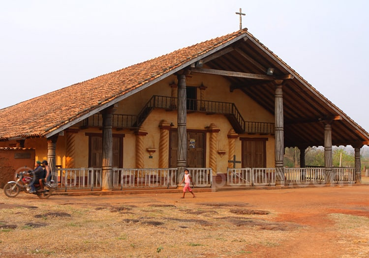 Eglise de Santa Ana de Velasco