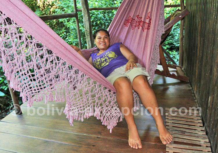 Femme tacana, Amazonie bolivienne
