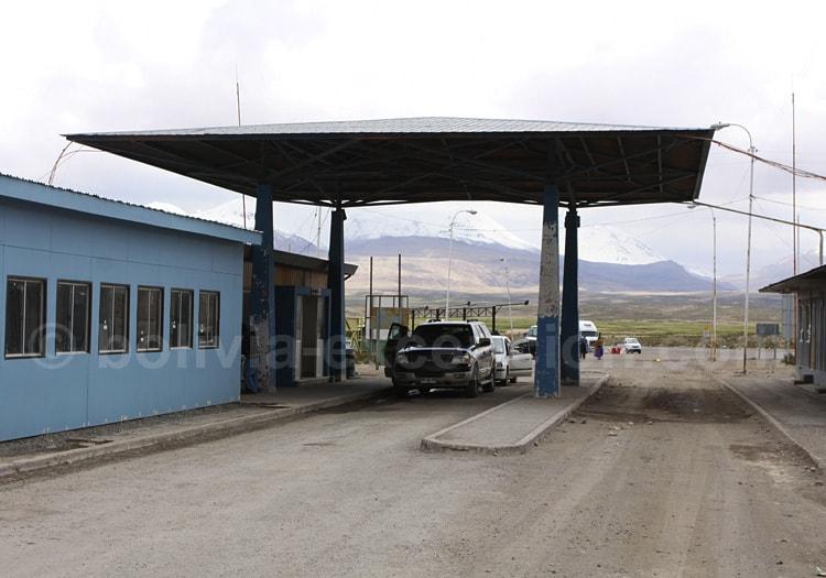 Frontière Tambo Quemado Chungara, Bolivie Chili