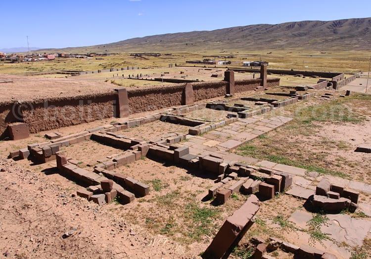 Temple Kalasasaya Tiwanaku