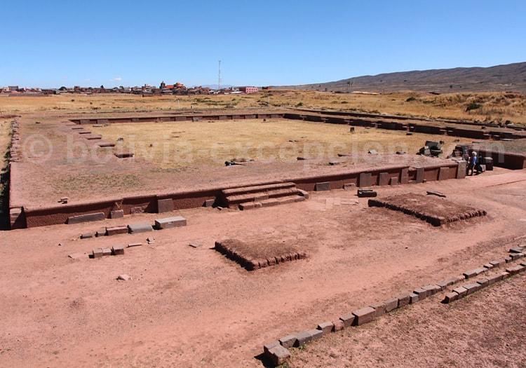 Temple Putini Tiwanaku