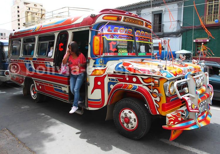 Transport à Tarija