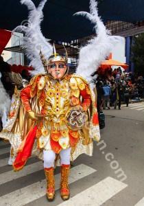 La Diablada représente ange et diable