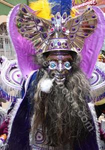 Anges et démons au carnaval d'Oruro