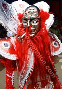 Les masques à Oruro