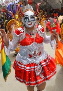 L'anonymat derrière les masques de carnaval