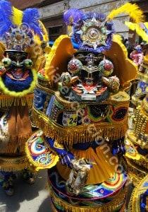 Masques folkloriques de Bolivie