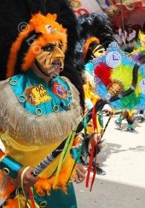 Masques d'Oruro, élément de la cosmovision andine