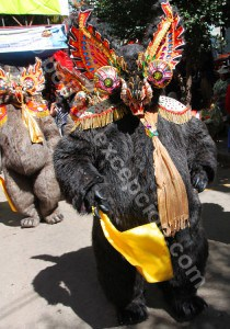 Les masques de carnaval, figures spirituelles et légendaires