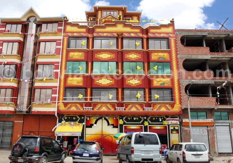 Architecture Aymara, La Paz El Alto