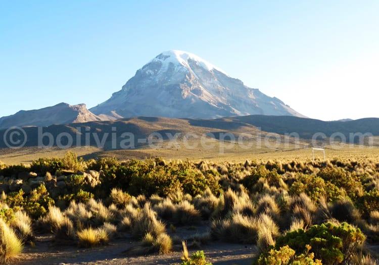 volcan sajama bolivie