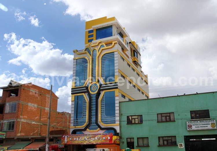 Immeuble neo-andin, La Paz