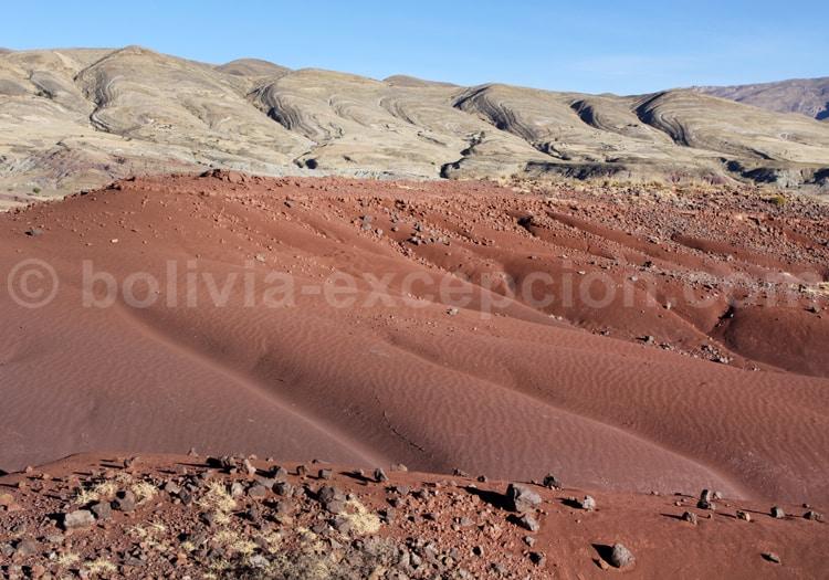 Le Cratère de Maragua, Bolivie