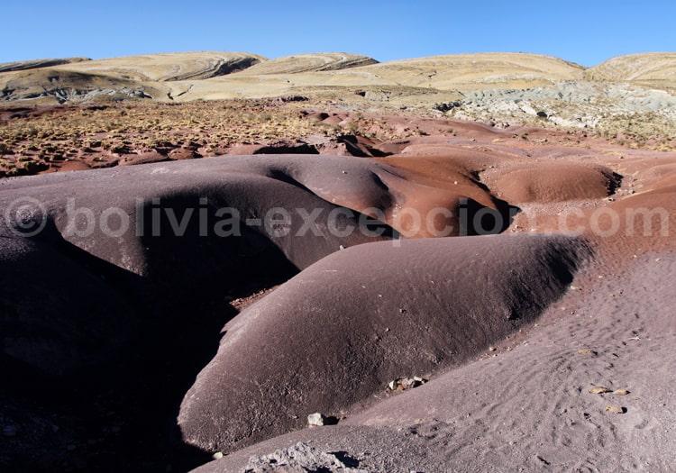 Roches volcaniques, région de Sucre