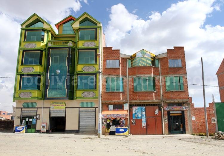 Architecture aymara, La Paz