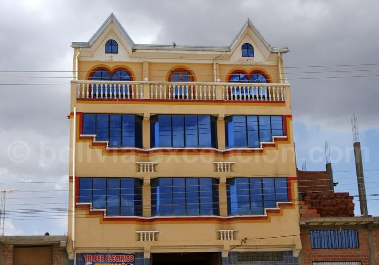 Maison neo-andine ou cholet