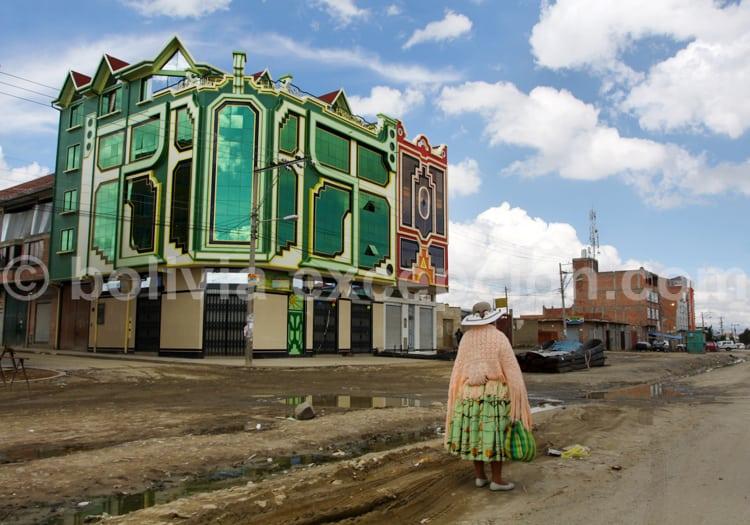 Les couleurs de l'architecture aymara