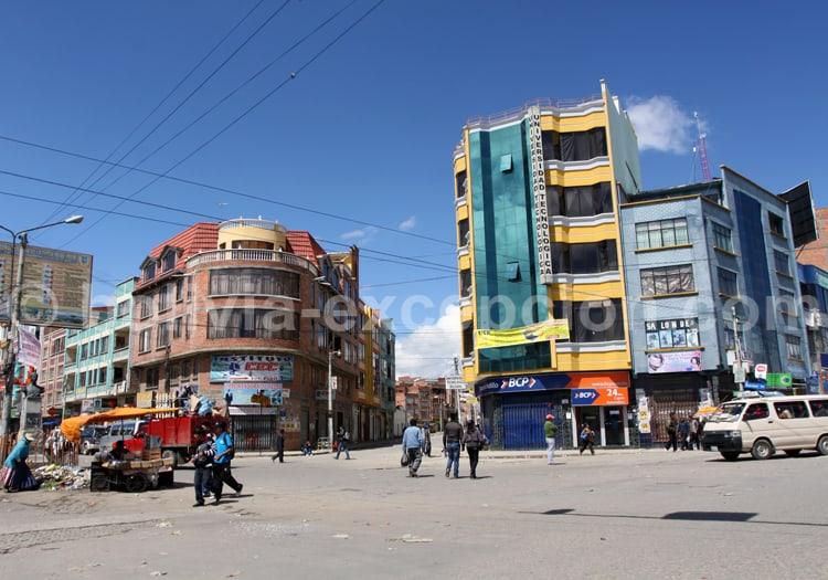 Arquitectura Aymara, La Paz
