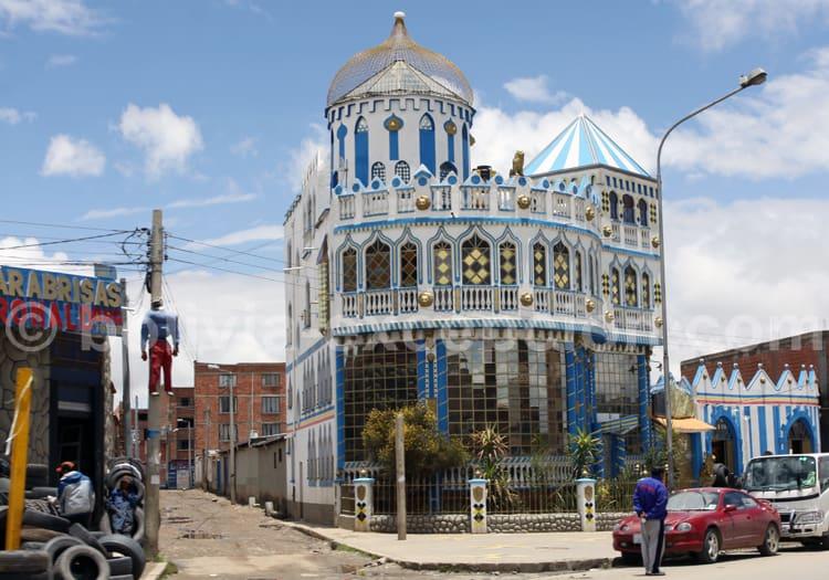 Maison typique, architecture Aymara, La Paz