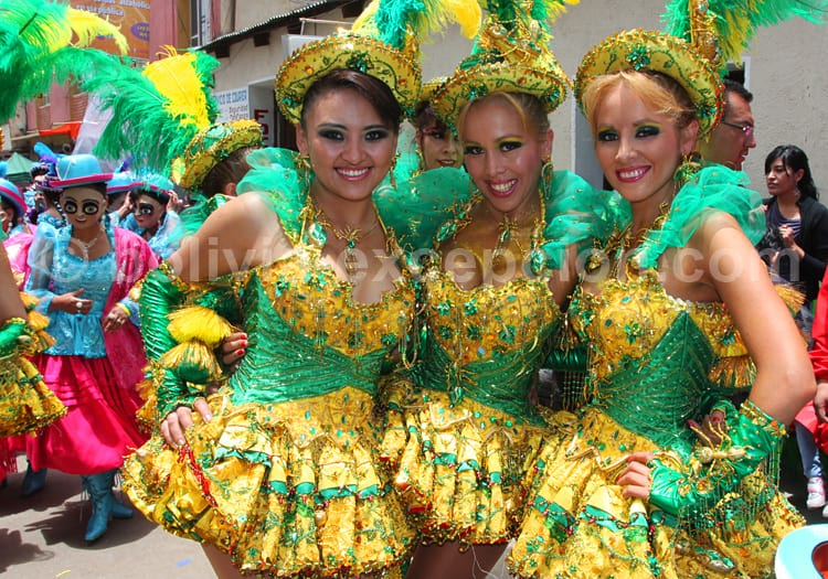 Sourires au carnaval d'Oruro