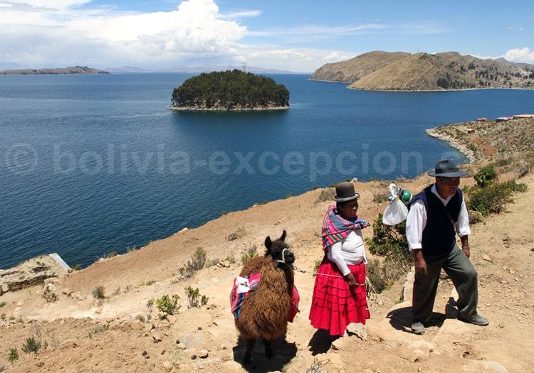 Lac Titicaca en famille