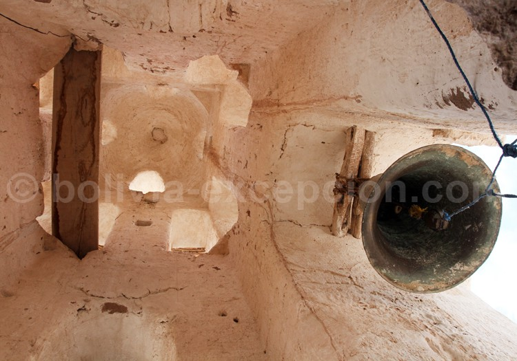 Clocher, eglise de Curahuara Carangas