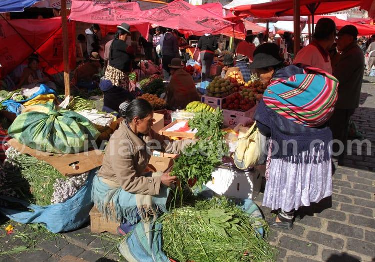 Mercados et Tambos, La Paz