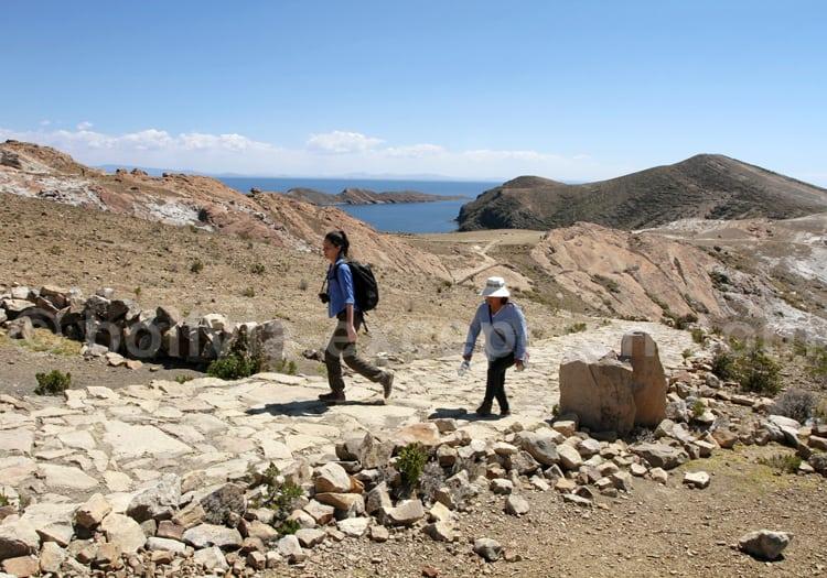 Sentier des crêtes, Isla del Sol