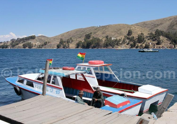 Combiné Pérou Bolivie, Lac Titicaca